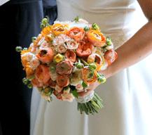 ramos de novia, ranunculos, enabodate, flores de temporada