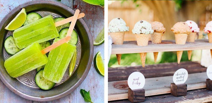 helados, boda, refrescarse, summer wedding, boda verano