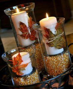 bodas otoño, decoración, velas, ideas, wedding planner, enabodate